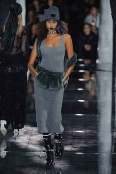 Everyone's favorite bad gal put on one hell of a show for her first runway outing for Puma.