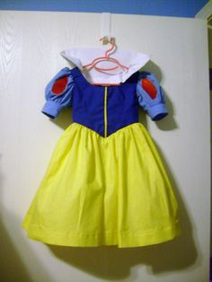 Disney Princess dress for toddlers and girls. $40.00, via Etsy.