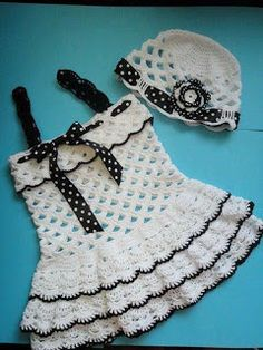 Crochet pro Drink: Dresses in crochet