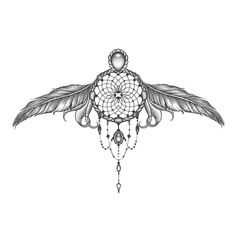 Dreamcatcher Underboob Tattoo Boho chic styled underboob dreamcatcher tattoo, ideal for music festivals & gatherings! Music Tattoos, Star Tattoos, Body Art Tattoos, Celtic Tattoos, Ribbon Tattoos, Wing Tattoos, Feather Tattoos, Tattos, Chest Tattoos For Women