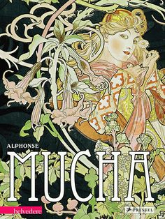 Alphonse Mucha Hardcover Book, from illustration and decorative arts to his photography and the historical paintings. Alphonse Mucha, Montpellier, Magnum Opus, Art Nouveau, Gustav Klimt, Thriller, Art Deco Invitations, Words On Canvas, Amazon Art