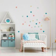 Die 44 Besten Bilder Von Punkte Wand Kinderzimmer Child Room Home