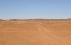 Dusty track across the open desert northwest of Khartoum http://www.pbase.com/bmcmorrow/sudanlibyandesert&page=all