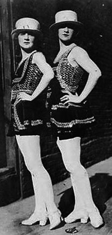 female impersonators - circa 1925