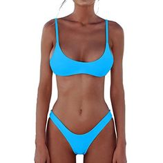 4859af8c0b49d DaiLiWei Women s Swimsuits 2 Pcs Brazilian Thong Marble Bikini High Waisted  Bathing Suits for Women Suits