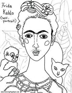 Plástica - Frida Kahlo, world famous Mexican Painter