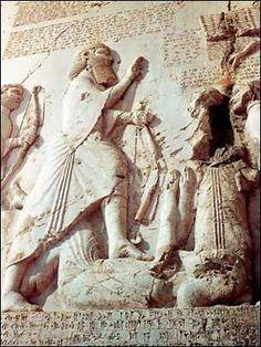 Inscription of Darius I the Great at Bisotoun.