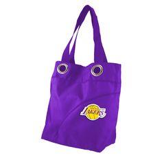 Los Angeles Lakers NBA Color Sheen Tote (Purple)