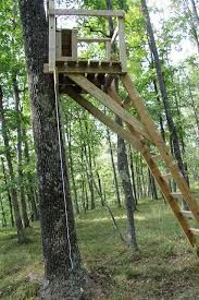 Wooden Ladder Tree Stands Plans Portal For The Land