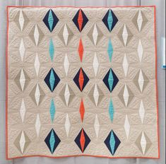 Floating Jewels by Tanya Heldman, 2014 | The Modern Quilt Guild