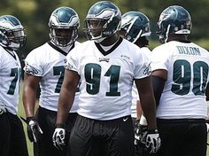 """""""I´m sure there´s a lot of expectation of me,"""" Fletcher Cox said Wednesday. Philadelphia Eagles Football, Local News, Football Helmets, Wednesday, David, Activities, Fall, Sports, Autumn"""