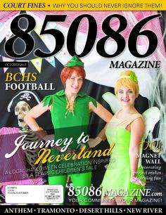 The Oct '15 cover of 85086 Magazine  Produced by The Media Barr, Inc.  www.85086magazine.com www.themediabarr.com