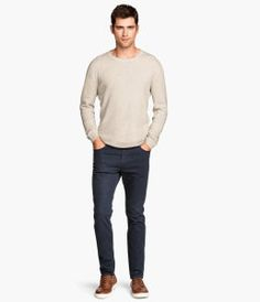 Twill trousers Skinny fit