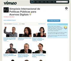 Vídeos do Simpósio: Políticas Públicas para Acervos Digitais (2010)