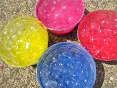 This weekend we were doing bubble activities galore: playing and printing with bubbles. Cassie enjoyed both. What inspired us to do this w...