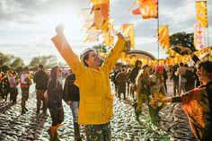 #yellow #musicfestival #sunshine #mud