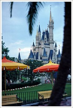 Cinderella's Castle. Walt Disney World.