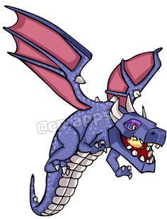 Dragon How To Draw: Clash of Clans #clashroyale #clashofclans