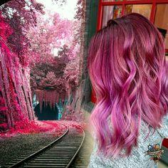 Inspiration is everywhere #pulpriothair @pulpriothair #brazilianbondbuilder #b3demi #behindthechair #modernsalon #americansalon #beautylaunchpad #hairbykaseyoh