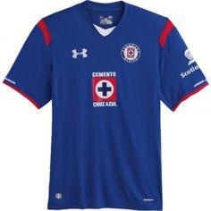 2014/15 Cruz Azul Home Soccer Jersey
