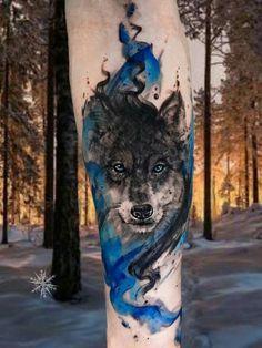 Woooooooow... Wolf Tattoo