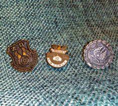 Vintage USAF 10 Year Service Award Lapel Screw Back Plus 2 ZD Pins $10