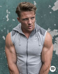 Benching in the ninth grade, Steve Cook knows how to lift. His Playlist will help take your training to the next level. Cool Hairstyles For Men, Boy Hairstyles, Steve Cook, Mens Fashion Wear, Men's Fashion, Gym Style, Style Men, Men's Style, Workout Music