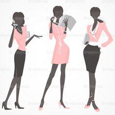 Silhouette-business-women-brusheezy