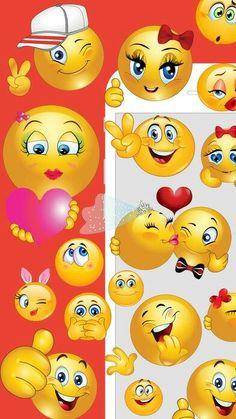 Free Emoji, World Emoji Day, Happy Smiley Face, Emoji Symbols, Emoji Faces, Gifs, Facebook Humor, Emoji Wallpaper, Gif Animé
