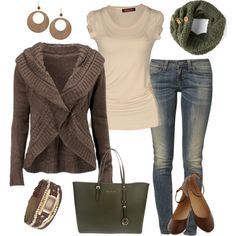 """""""Olive Green Casual"""" by smores1165 on Polyvore"""