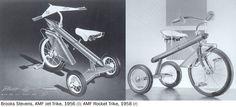 Brooks Stevens - AMF Jet Trike - 1956
