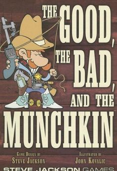 The Good the Bad and the Munchkin Steve Jackson Games https://www.amazon.com/dp/1556347693/ref=cm_sw_r_pi_dp_vslyxbYPZ2CWA