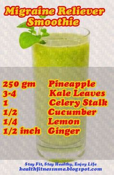 Migraine Reliever Smoothie