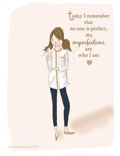 Art for Women and Girls Inspirational by RoseHillDesignStudio
