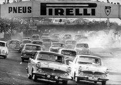 seventies.teen.survived — luimartins: Interlagos 24 hs 1961 Start  …France.