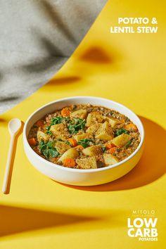 Lentil Recipes, Vegetarian Recipes Easy, Bean Recipes, Vegetable Recipes, Soup Recipes, Healthy Recipes, Lentil Dishes, Lentil Stew, Kitchens