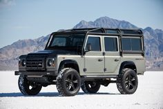Land Rover Defender by Himalaya Limited - https://www.pinterest.com/dapoirier/4x4-and-trucks/