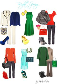 """Bright Spring Looks"" by sabira-amira on Polyvore"