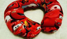 Boy Custom Travel Pillow Toddler Neck Pillow by Happynightowls