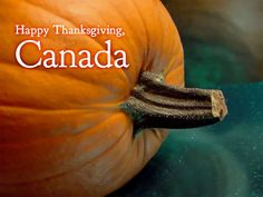 Happy Thanksgiving Canada!  http://en.wikipedia.org/wiki/Thanksgiving_(Canada)