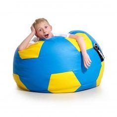 Bean Bag Kick - football - sport for children Soccer Ball, Bean Bag Chair, Kicks, Football, Children, Sports, Bags, Design, Soccer