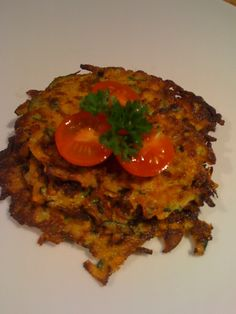 breakfast fritters - serve with an egg on top - yum!