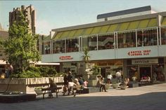 Churchill Square shopping centre in 1972. | 14 Charming Old Photos Of Brighton