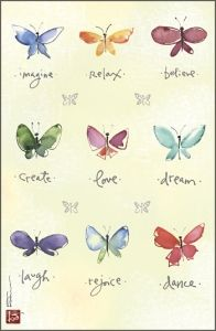 Butterfly's Promise by Kathy Davis here is a good reason why I love butterflies.