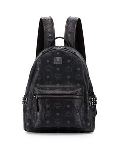 MCM Stark Visetos Side-Stud Small Backpack ce9e7341e2bac