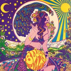 Image de art, psychedelic, and sun