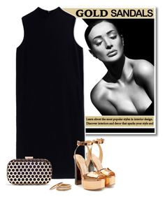 """""""no.182"""" by nina-k-307 ❤ liked on Polyvore featuring The Row, Giuseppe Zanotti, Inge Christopher and Nest"""