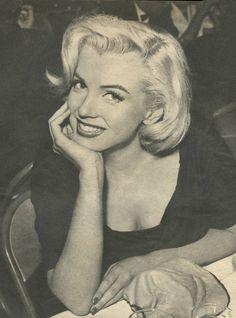 Marilyn Monroe at the Redbook Awards, 1953.