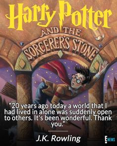 Happy 20th birthday Harry Potter!! Harry Potter Books, Harry Potter Love, Harry Potter Universal, Slytherin, Hogwarts, Happy 20th Birthday, Mischief Managed, Fantastic Beasts, Book Worms