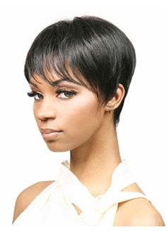 Short Layered Synthetic Wig